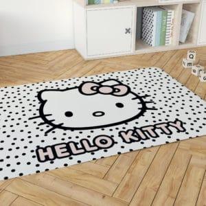 שטיח דקורטיבי גדול ומפנק לחדר ילדים – דגם הלו קיטי