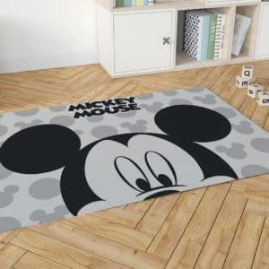 שטיח דקורטיבי גדול ומפנק לחדר ילדים – דגם מיקי מאוס