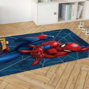 שטיח דקורטיבי גדול ומפנק לחדר ילדים – דגם ספיידרמן