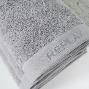 מגבת גוף ענק REPLAY אפור