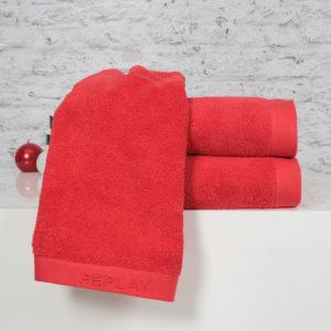 מגבת גוף ענק REPLAY אדום