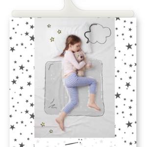 סדינית הקסם כוכבים אריזת יחיד – סדין מיוחד לגמילה מחיתולים