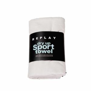מגבת ספורט REPLAY אפור